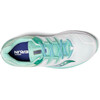 saucony Guide ISO Shoes Women White/Aqua